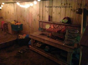 Night Time Mud Kitchen